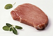 Separated loin chop
