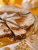 Panforte di Siena (spiced cake from Siena, Italy)