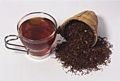 Rooisbos tea (Aspalathus linearis)