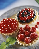 Tartlet with berries