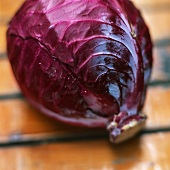 A Head of Red Cabbage
