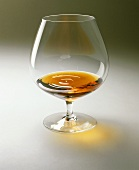 Brandy snifter with cognac