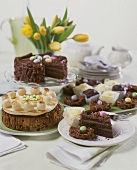 English Easter cakes (Simnel cake etc.)