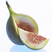 Fig, cut open
