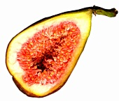 Halved fig