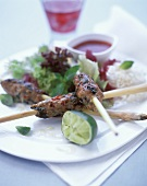 Spicy mince kebabs