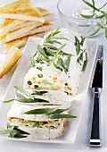 Vegetable terrine with tarragon