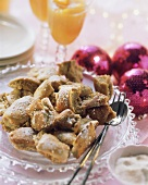 Emperor's pancakes (Kaiserschmarrn) with gingerbread spice
