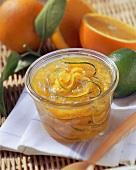 Orange and lime marmalade