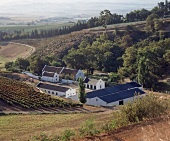 The Cordoba Winery in Stellenbosch wine growing area, S. Africa