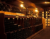 Wine cellar at King & Godfrey's, Melbourne, Australia