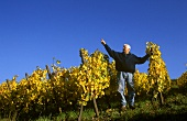 Leonard Humbrecht in his Riesling vineyard, Turckheim