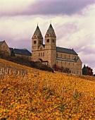 Die Abtei St. Hildegard bei Rüdesheim , Rheingau, Deutschland