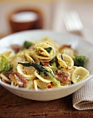 Orecchiette with broccoli and garlic