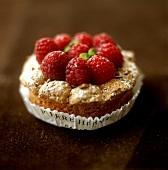 Small raspberry cookie