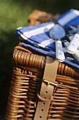Picnic basket (close-up)