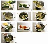 Preparing minestrone