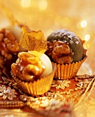 Noci di Merano (walnuts with caramel & marzipan filling)