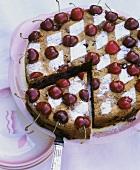 Kirschenplotzer (thick cherry cake)
