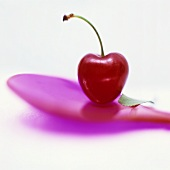 A red cherry
