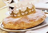 French Three Kings cake (Gateau de rois)