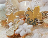 Various sweet pastry biscuits (Angel, stars, trumpets)