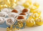 Festliches Konfekt: Orangen-, Schnee- & Kakaotrüffel