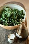 Rocket salad with vinaigrette
