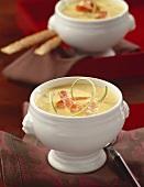 Exotic shrimp soup