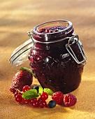 Mixed berry preserve