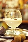 "Creamy ""Don Pedro"" cocktail"