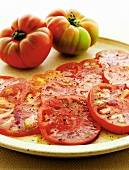 Pomodori all'aceto balsamic (Tomatoes with balsamic vinegar & oil)
