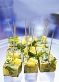 Green asparagus tortilla