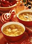 Kartoffel-Fisch-Suppe, Weihnachtsgericht aus Polen