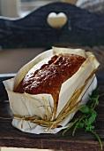 Polski chleb (traditional bread in paper, Poland)