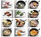 Fegato alla veneziana (Kalbsleber süß-sauer) zubereiten
