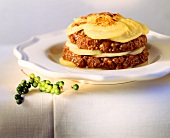 Potato and mince bake (with minced lamb)