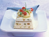 Zuppa inglese (Cream dessert with candied fruits)