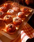 Tray-baked baked apple cake