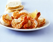 Garlic shrimps (shrimps fried in garlic oil)
