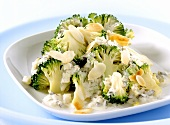 Broccoletti alla lucana (broccoli in olive & oregano sauce)