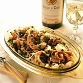 Polpi in insalata (octopus salad) Campania, Italy