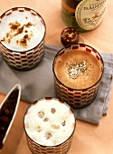 Hot milk: coconut & chocolate, raisin & Marsala & Calvados