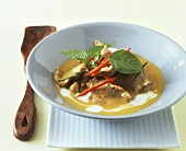 Pork with Thai basil