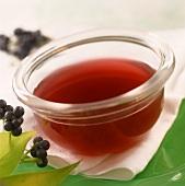 Spicy elderberry sauce