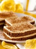 Chocolate mascarpone slices for diabetics