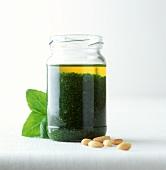 Pesto alla genovese in jar