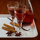 Home-made liqueur