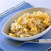 Pineapple sauerkraut