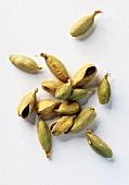 Green cardamom capsules